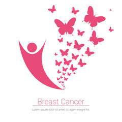 Breast Cancer Awareness Pink Banner