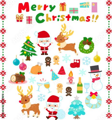 クリスマスのファンシーなイラストfotoliacom の ストック画像と