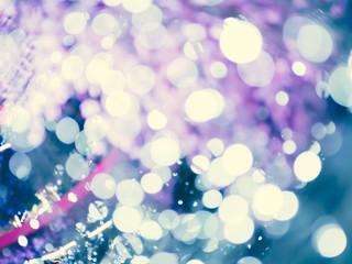 Abstract blur lighting design