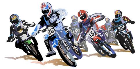 モトクロス-レース