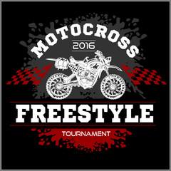 Motocross Tournament emblem