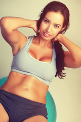 Beautiful Exercising Woman