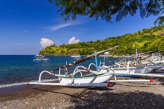 Amed Beach - Bali Island Indonesia