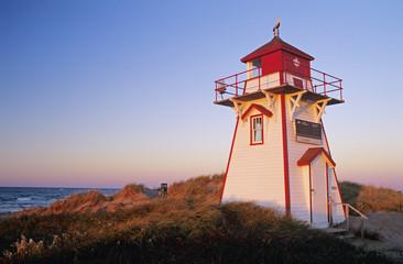 Cove Head Lighthouse, Prince Edward Island National Park, Prince Edward Island, Canada