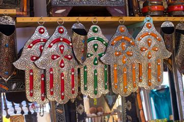 Hamsa amulets