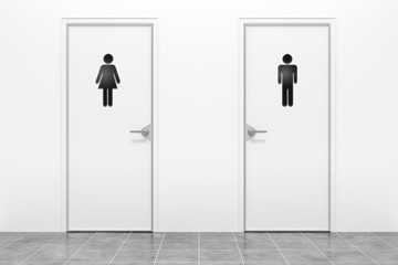 wc for women and men