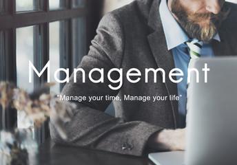 Management Organization Business Strategy Process Concept