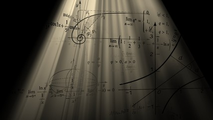 Mathematical formulas and graphs.