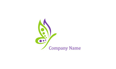Butterfly logo, this logo symbolize, some thing beautiful, soft, calm, nature, metamorphosis, graceful, and elegant.