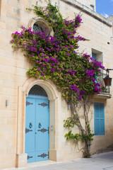 Blaue Tür in Mdina