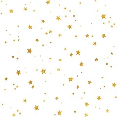 Seamless pattern with gold foil stars for Christmas (or other occasions)