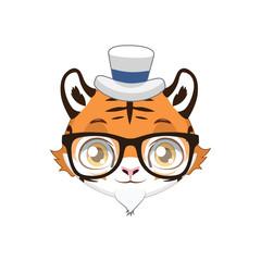 Hipster Tiger