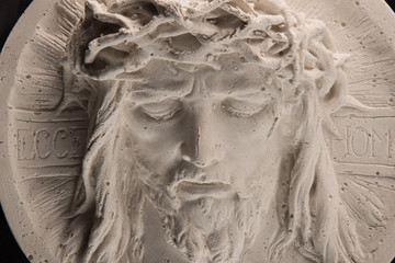 gypsum image of Christ