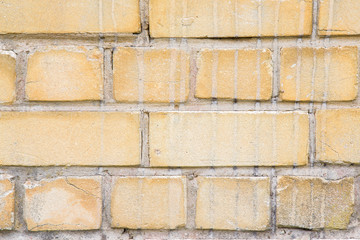 Old, style bricks wall texture background.