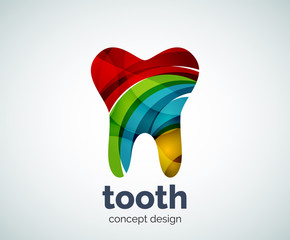 Vector tooth logo template