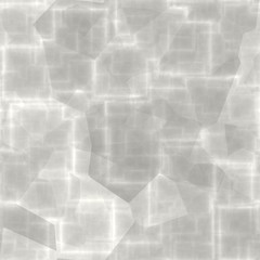White gleaming abstract shapes cold icy light background
