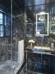 Opulent marble bathroom