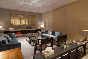 Cost modern living room