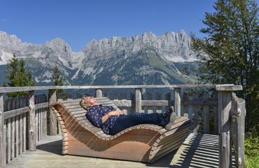 RUHE UND ERHOLUNG  - Wilderkaiser in Tirol