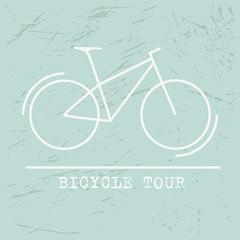 Bicycle Icon Vector Tour, bike Icon Art, bike Icon logo,bike icon Flat on blue background