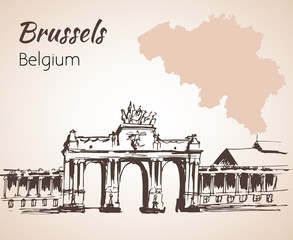 Parc du Cinquantenaire - - Brussels - Belgium.