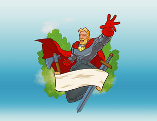 russian super hero