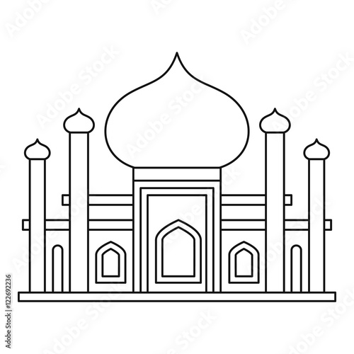 Mosque Outline Related Keywords amp Suggestions