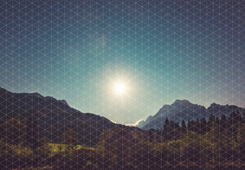 Grid Overlay Effects
