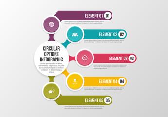 Circular Options Infographic