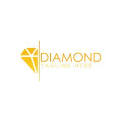 Diamond logo creative design vector