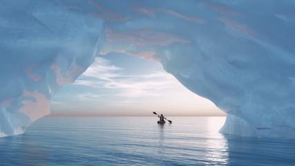The arch iceberg