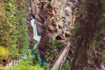 Canyon in Banff NP