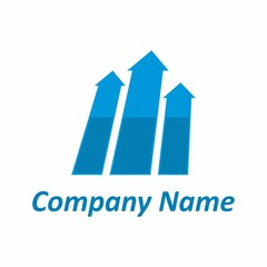Finance management business logo concept