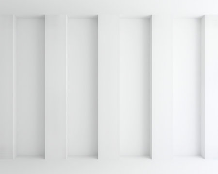 interior white wall abstract background