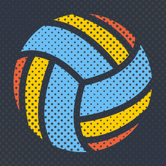 Sports background, vector illustration.