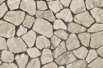 abstract texture facing stone of beige color