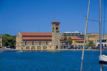 beautiful views city of Rhodes