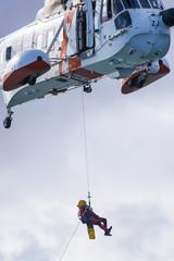 Rettungseinsatz mit Sea King, Luftrettung