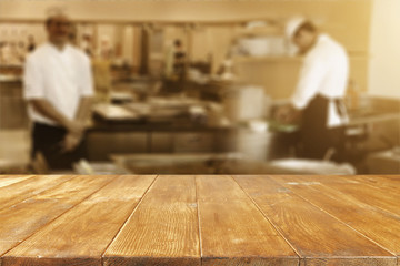 table background cook chef  Wall mural