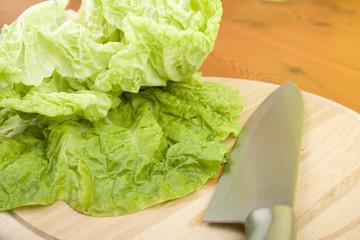 Green Beijing cabbage