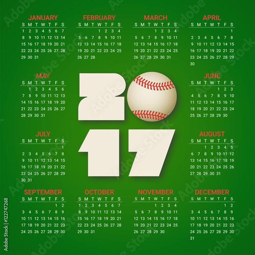 Baseball Calendar Template Gallery Template Design Free Download