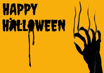 Halloween background ,vector design