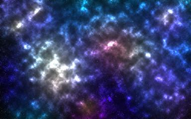 Space of night sky.