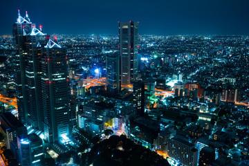 Shinjuku night view