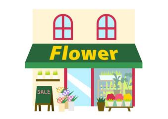 花屋のイラスト