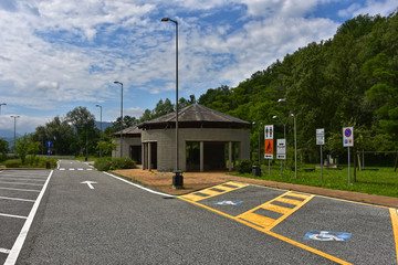 Italien - Autobahnparkplatz Lusuolo