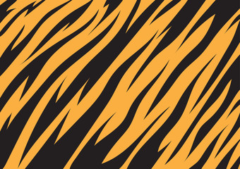 Tiger texture abstract background