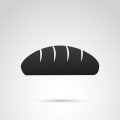 Bread vector icon.
