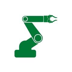 Hand robot vector design