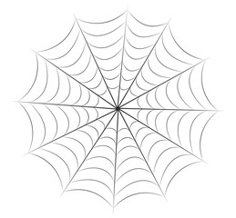 halloween spiderweb vector symbol icon design.